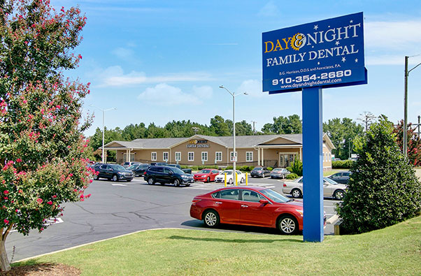 Street view of Day and Night Dental office
